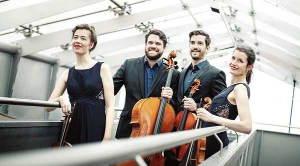 Aris Quartett Bild: Simona Bednarek