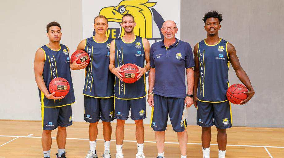 EWE Baskets Traingsauftrakt 2019 Bild: Martin Remmers