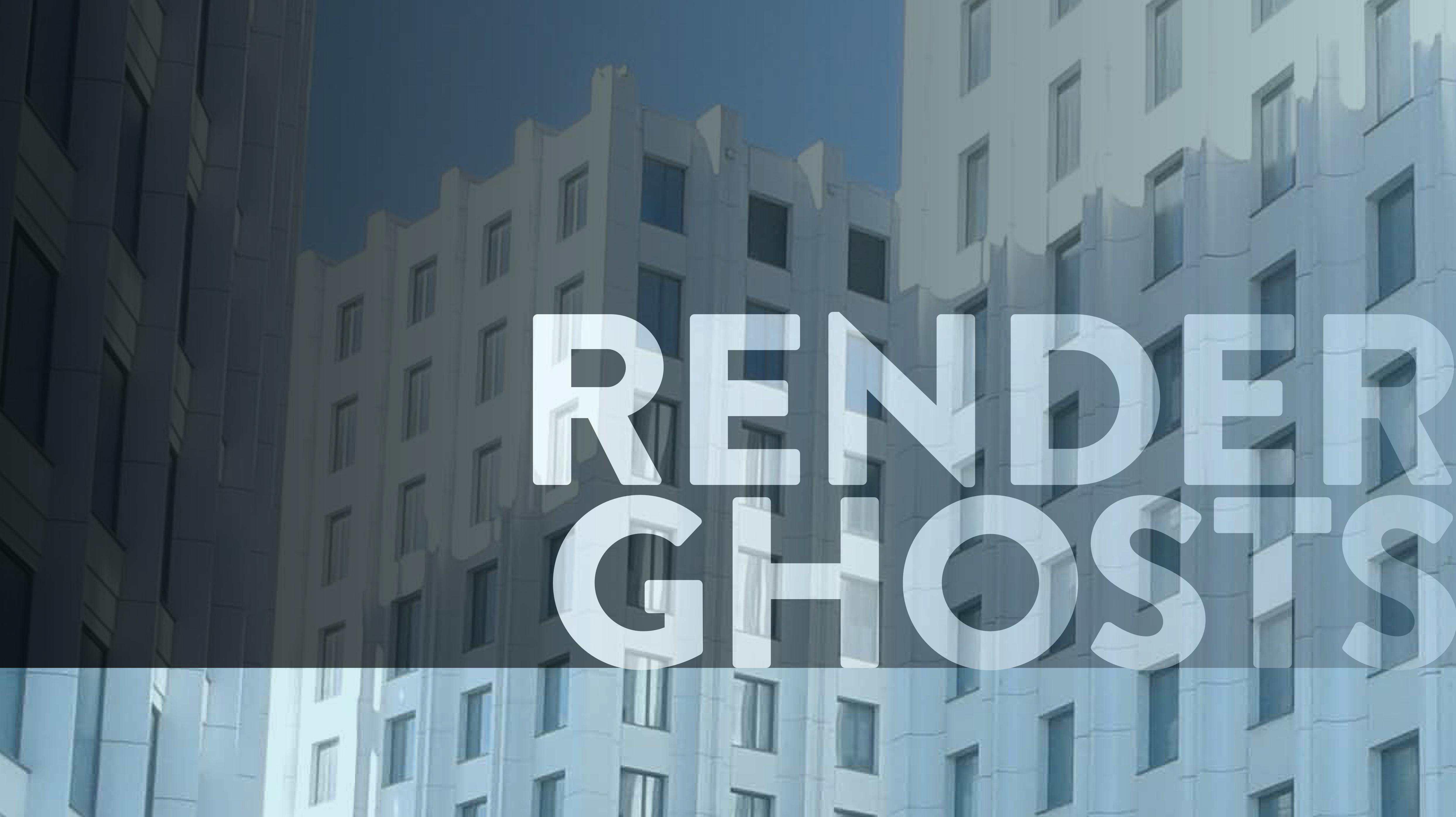 Die soziale Fiktion/Render Ghosts Bild: Felix Röben
