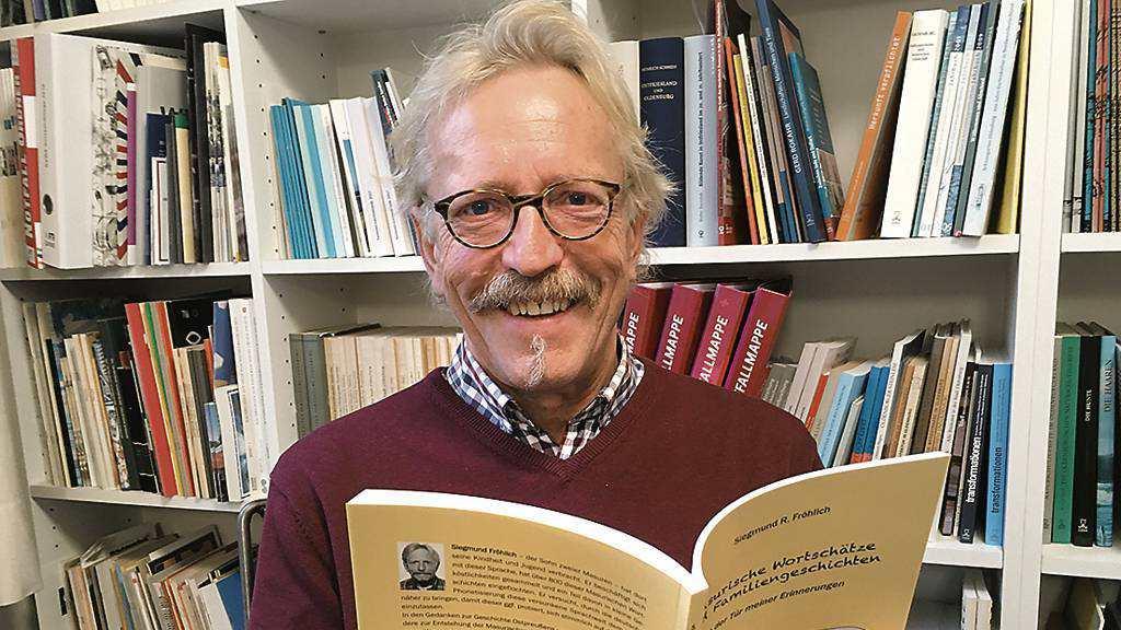 Schreibt mit Freude Bücher: Siegmund R. Fröhlich hat seine Erinnerungen an Masuren in einem stark autobiografischen Buch festgehalten. Bild: Thomas Husmann