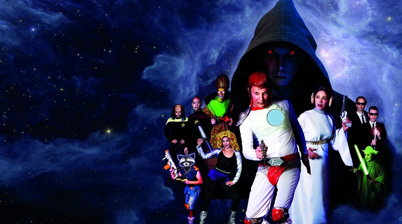 Das VPT: Helden der Galaxis Bild: Daniela Landwehr