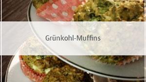 Grünkohl-Muffins