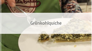 Grünkohlquiche