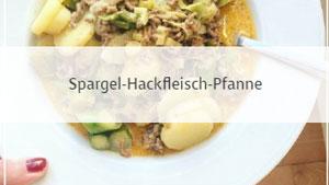Spargel-Hackfleisch-Pfanne