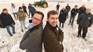 Landwirte gegen Redakteure - Das war das Duell der Felder!