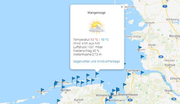 Das Nordsee-Wetter: Sonnenschein, Wind, Surf- und Segelwetter