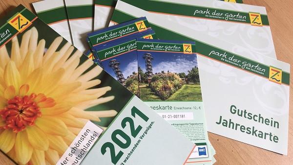 5 Jahres- und 5x2 Tageskarten für den Park der Gärten zu gewinnen!