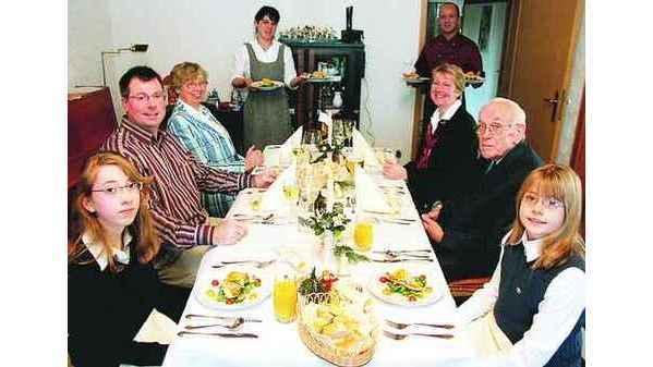 Festessen Ganderkesee Profi Kocht Für Familie Noster
