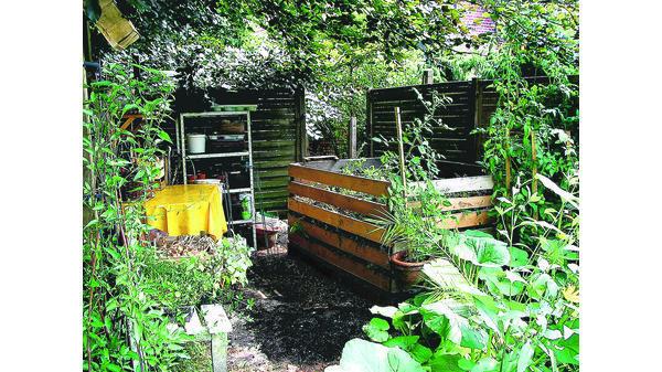 Kompost Schwarzes Gold Des Gärtners