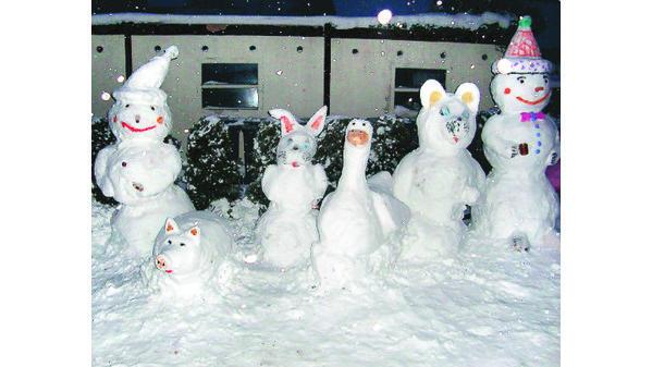 Bildergebnis für schönster Schneemann der Welt