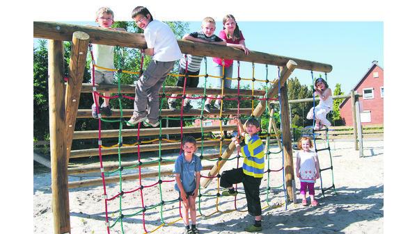 Klettergerüst Kinder Test : Spielplatz test hude: klettern und toben ohne gefahr