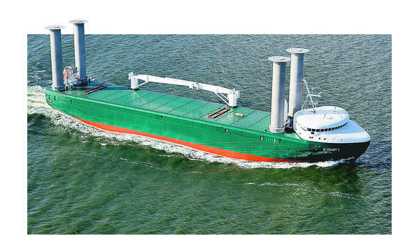 E Ship 1 Nimmt Fahrt Auf