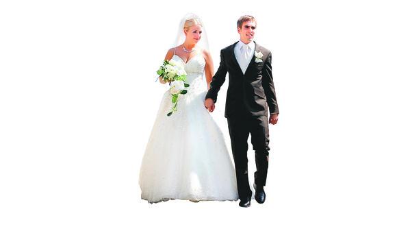 Hochzeit Ehepaar Lahm Feiert Ganz Ohne Prominenz