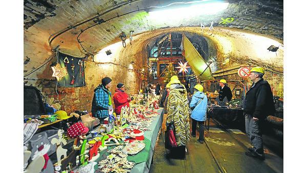 Goslar Weihnachtsmarkt.Weihnachtsmarkt Unter Tage In Goslar
