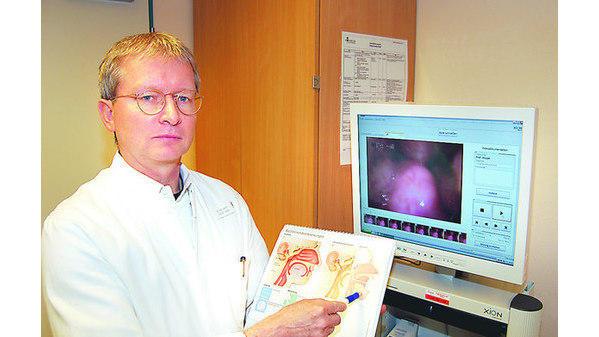 Florian Oldenburg mandeln abwehrpolizei gegen bakterien