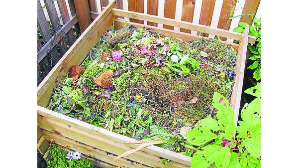 Kompost Mit Köpfchen Schichten Und Mischen