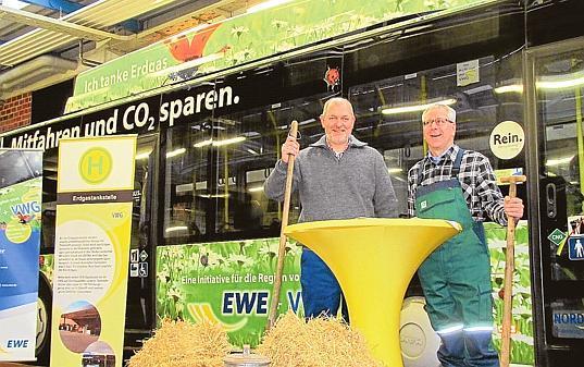 Energie vwg busse fahren auf biogas ab for Emschermann