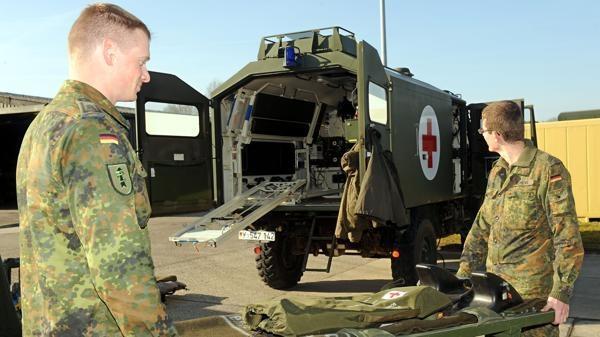 Sanitäter logo bundeswehr  Bundeswehr: Sanitäter aus Leer auf dem Weg nach Mali