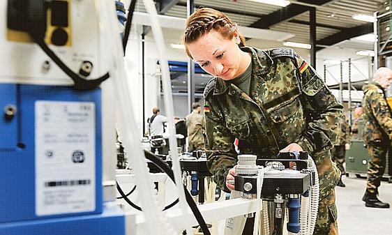 Sanitäter logo bundeswehr  Bundeswehr: Sanitäter aus Leer in Mali-Einsatz
