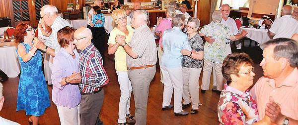 Tanztee für senioren