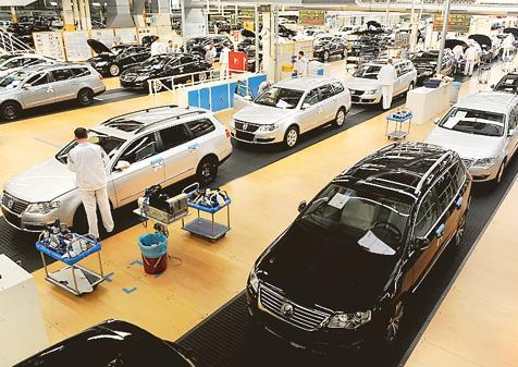 Autobau Vw Emden Langere Werksferien