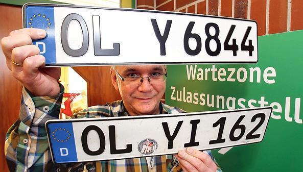 Kfz Zulassung Oldenburg Wildeshausen Nummernsalat Bei Kennzeichen
