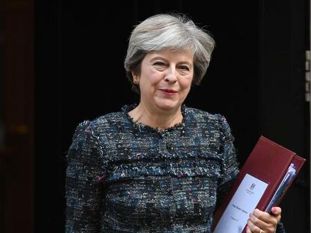 Scharfe Kritik an Mays Brexit-Grundsatzrede