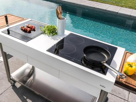 Outdoorküche Mit Kühlschrank Vergleich : Kochen und spülen im garten outdoorküche für den sommer