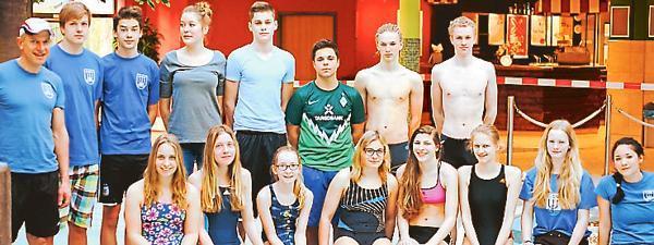 Schwimmen Cloppenburg: Cloppenburger SV sammelt 108 erste