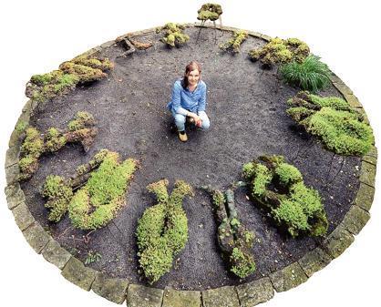 nachhaltige garten kunst skulpturen pflanzen, porträt: schöpferin lebender skulpturen, Design ideen
