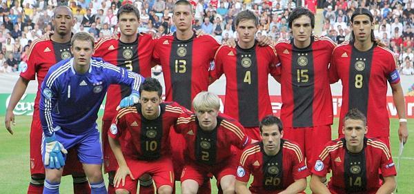 U21 Europameister Deutschland