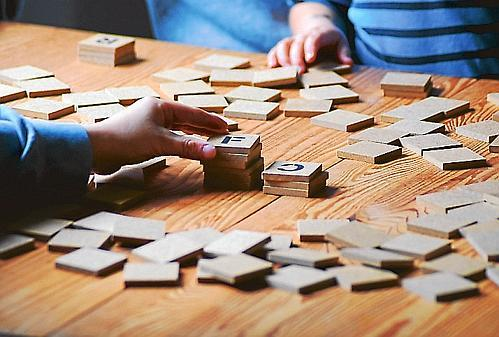 Esel Spiel Holz