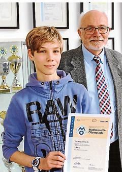Mathematik Jaderberg Jan Kupperbusch Holt Medaille