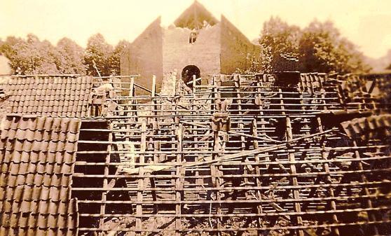 Zweiter Weltkrieg Barel Kirchturm In Schutt Und Asche