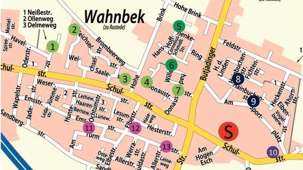 Schulexpress Wahnbek: Gelbe Füßchen weisen Kindern den Weg