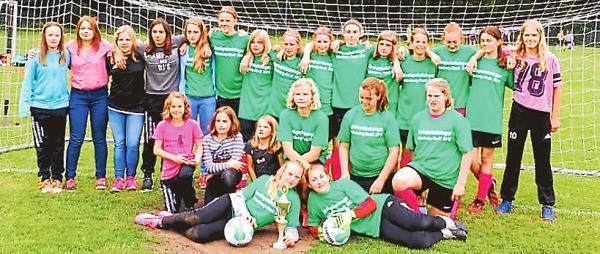 Madchenfussball Edewecht D Juniorinnen Holen Sich Auch Den