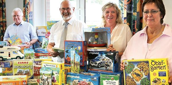 Caritas verein altenoythe stiftung sorgt für spielende kinder