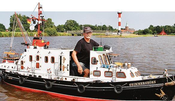 Freizeit Barßel: Im Modellschiff durch den Hafen