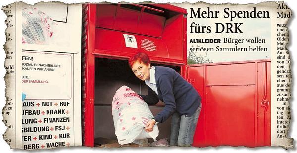 timeless design 2cdc4 0a5fe Sammlungen Wildeshausen: Neues Leben für alte Kleidung