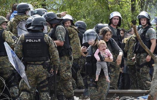An der Grenze zwischen Griechenland und Mazedonien spielen sich Dramen ab. 82ce95305a