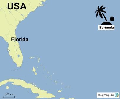 Austausch Barßel/Bermuda: Henrike sitzt auf gepackten Koffern