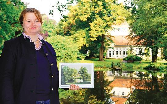"""Gartenerlebnisse Hude: """"Herbstglühen im Landschaftspark"""