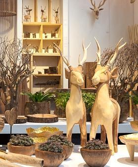 Dekoration Aus Dem Wald Ins Wohnzimmer