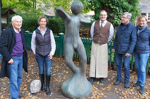 Kunst Hude: Skulptur bleibt als Blickfang erhalten