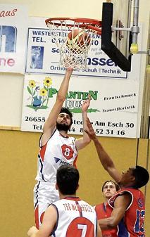 Basketball Westerstede: TSG setzt Höhenflug wieder fort