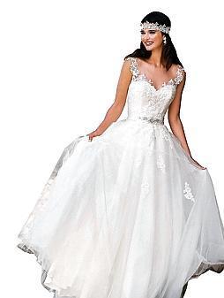Brautmoden Opulent Und Mit Viel Spitze