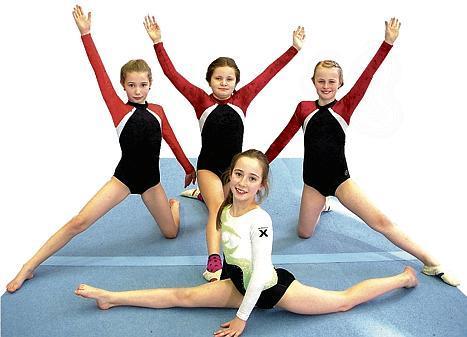 Turnen Glarum M 228 Dchen Zeigen Akrobatisches Talent