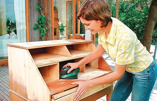 Möbel Altes Holz Wieder Glänzen Lassen
