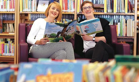 Bibliothek Delmenhorst: Neue Seiten in Bücherei gestalten
