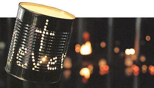 Freitag Abend Lichter aus
